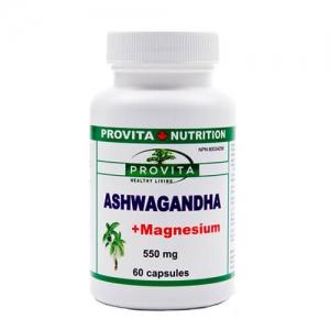Produse Provita Nutrition - Ashwagandha cu magneziu