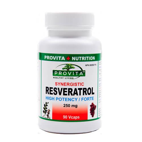 Resveratrol sinergetic - 250 mg