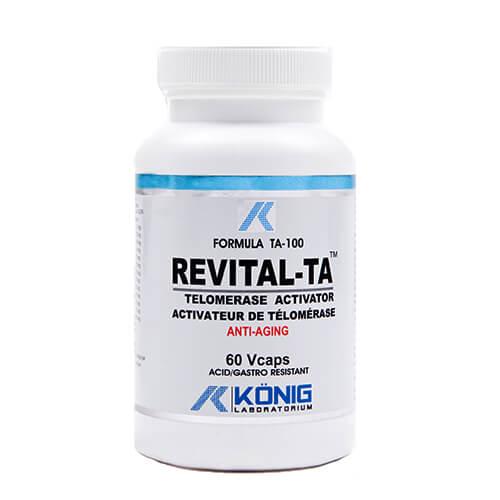 Revital-Ta (formula Ta-100) - 60 capsule gastro-rezistente